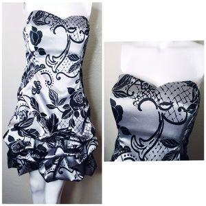 Mymichelle layered mini dress.
